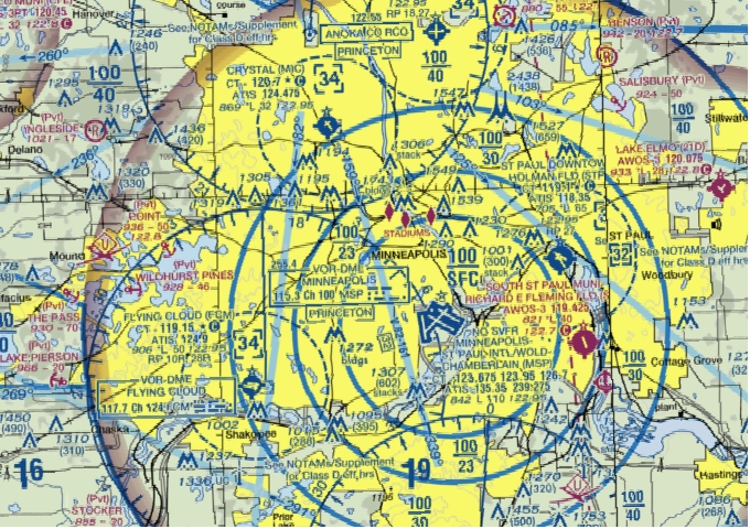 Los Angeles Sectional Chart Terminal Aeronautical Chart